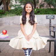 Lila School Uniform Dress
