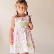 Adorable Alice Dress in Floral Pink