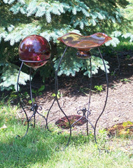 Victorian Traditional Gazing Ball Stand