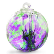 "Witch Ball ""Iris Bouquet"""