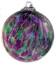 Purple / Green Plume Design