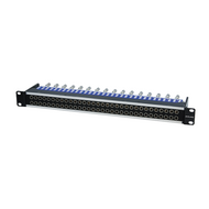 Canare 32MD-ST 1 RU Normalled Video Patchbay