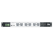 Middle Atlantic PDS-1615R Multi-Mount Horizontal Rackmount Power Distribution 16-Outlet 15 Amps w/ 2-Stage Surge Protection