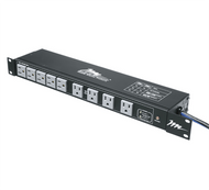 Middle Atlantic PD-1815R-RN Multi-Mount Horizontal Rackmount Power Distribution 18-Outlet 15 Amps w/ 2-Stage Surge Protection