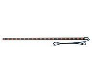 Middle Atlantic PDT-2020C-NS Thin Vertical Power Distribution Strip 20-Outlet 20 Amps - Corded