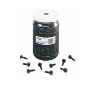 Middle Atlantic HP500 10-32 Truss-Head Rack Screws - Quantity of 500 - Reusable Plastic Jar