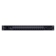 Wohler iAM-MIX16 1RU Audio Monitoring & Mixing w/ 16 Selectable Output Controls - Front View