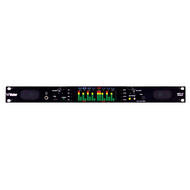 Wohler AMP1-16-M 16 Channel 1RU Dual Input 3G/HD/SD-SDI Audio Monitor - Front View
