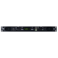 Wohler AMP1-2SDA 3G/HD/SD-SDI, AES3, Analog 1RU Audio Monitor w/ 2 Channel Metering - Front View
