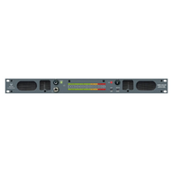 Wohler AMP1-DA/106 2 Channel 1RU AES & Analog Audio Monitor - Front View