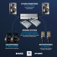 Studer Radio Solution Package for Micro Series Audio Mixing System