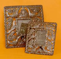 Metal Art Frame hand made in Haiti