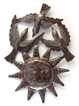 bright summer days, sun and birds, Haiti Metal Art
