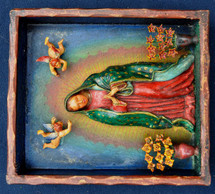 Peruvian Our lady of Guadalupe Retablo