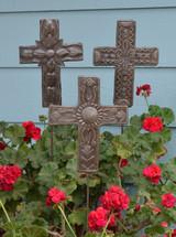 Croix Des Bouquete Garden Cross SM527