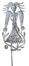 garden stake angel, path marker, Haitian Art