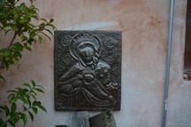 Folk art and Religious for the garden Haiti
