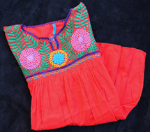 Mexico Blouse Red MEX0401