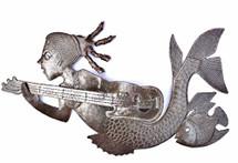 Haitian Metal Wall Art Mermaid