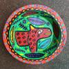 Guatemalan hand carved bowl