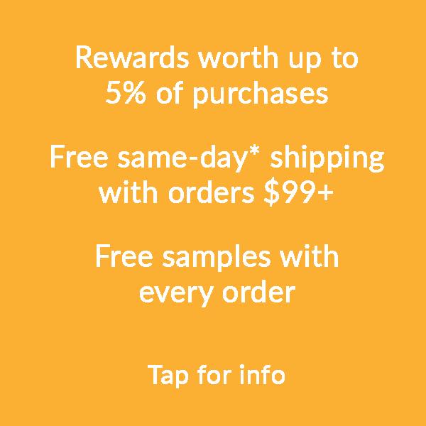 prodermal rewards, free same-day shipping and free samples