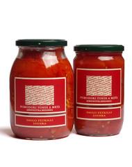 Organic Halved Round Tomatoes