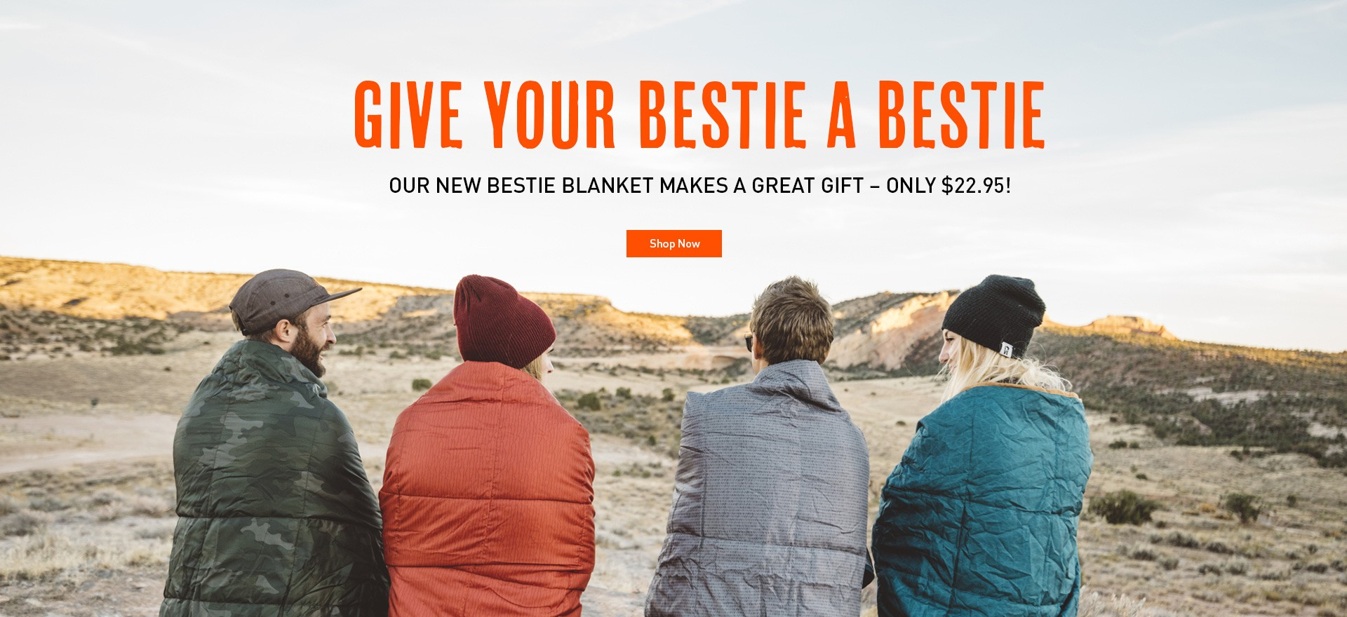 Our New Bestie Blanket Makes a Great Gift!