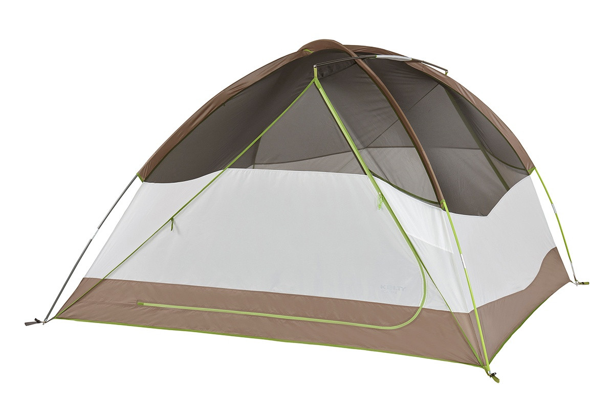 The 3-pole design provides more head and shoulder room and the continuous pole sleeve design is built to make pitching a breeze.  sc 1 st  Kelty & Acadia 4 Person Camping Tent | Kelty
