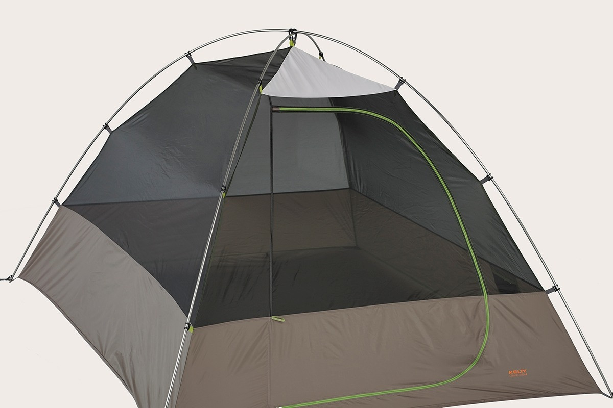 The Kelty Built Grand Mesa wonu0027t break the backpacking bank. With great features like compact folding poles that make setup easy and a ... & Grand Mesa 4 Person Camping Tent | Kelty