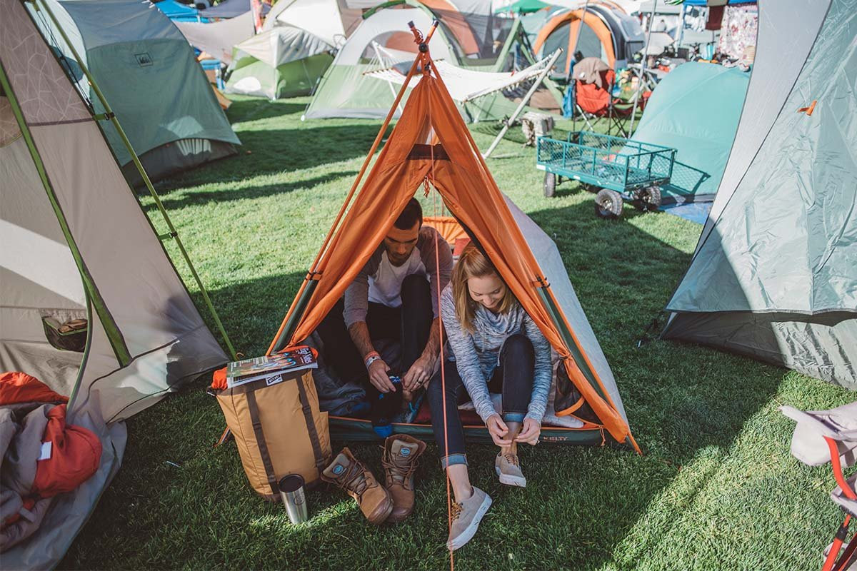 This classic pup tent has been re-imagined with updated materials and fun design. Reminiscent of a c&eru0027s past this roomy structure is easy to use and ... & Rover Tent | Kelty