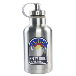 Kelty Built Colorado Sunset 64 oz growler