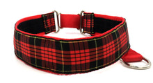 "1.5"" Brodie Tartan Private Prong Collar"