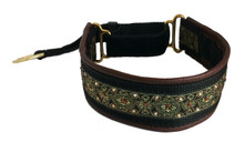 "1.5"" Java Gold Swarovski Crystal Private Prong Collar"