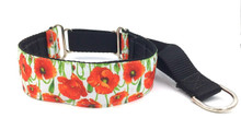 "1.5"" Poppies Private Prong Collar"