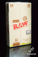 Raw Organic Hemp 1 1/4 Size Papers - 24 Books / Box