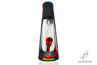 Waxmaid Horn Silicone Water Pipe Black/Red