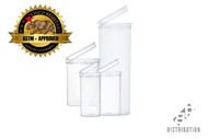 Clear Pop Top Containers