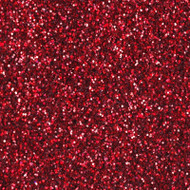 10 Gram Glitter Poof Bottle - Prismatic Red