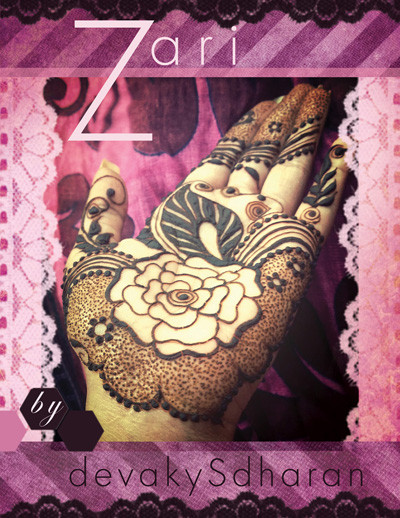 Zari - Arabic / Gulf Henna Designs by Devaky S Dharan ...