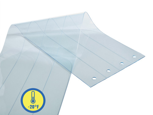 Low Temp PVC Strip Door Replacement Strips