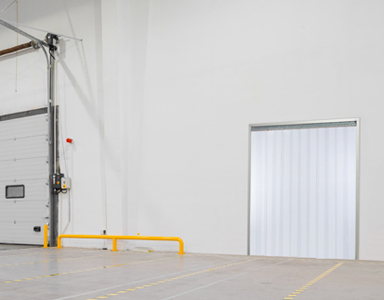 Strip Doors, Also Known As Strip Curtains, Are Flexible Doors And Barriers  Made With Overlapping Clear Or Tinted PVC Plastic Strips.