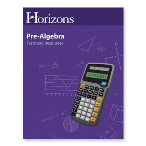 HORIZONS Pre-Algebra Readiness Evaluation