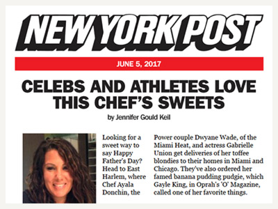 EK's Ayala Donchin in NY Post Article