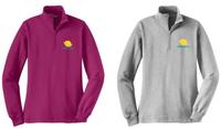 Cole Ladies Sport Tek 1/4 Zip Sweatshirt