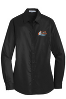 City of Hastings Ladies Twill Button Up Shirt