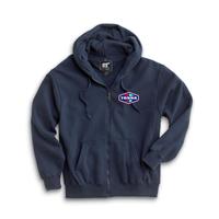 Tonna Heavyweight Full Zip Hooded Sweatshirt
