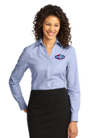 Tonna  Ladies Crosshatch Easy Care Shirt