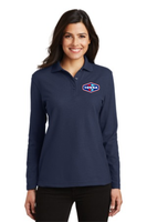 Tonna   Ladies Long Sleeve Silk Touch™ Polo
