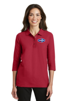 Tonna Ladies Silk Touch™ 3/4-Sleeve Polo