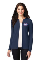Tonna Ladies Concept Stretch Button-Front Cardigan